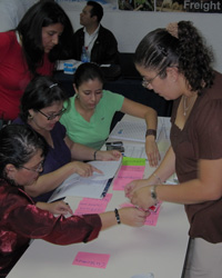 Workshops for flower exporters in Guatemala and Costa Rica