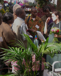 Market tours for flower exporters